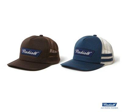 GOODFORIT / 日本Radiall CVS TRUCKER TC斜紋布貼布卡車帽款/兩色