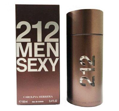 【Carolina Herrera】212 SEXY MEN 男性淡香水(100ml)
