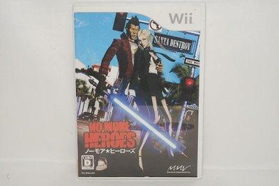 日版 Wii 英雄不再 No More Heros