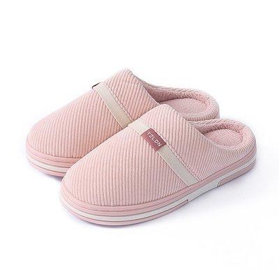 熱賣棉拖鞋女冬天家用室內防滑保暖軟底家...