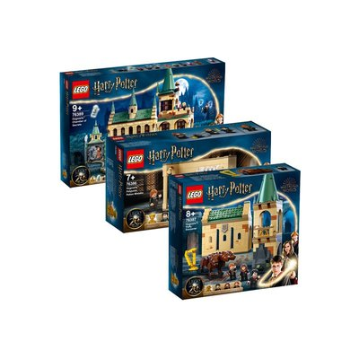凱知樂 LEGO哈利波特20周年霍格沃茲學院76389兒童積木玩具積木益智玩具