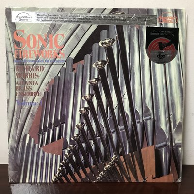 晨雨黑膠【古典】美版Crystal Clear/Sonic Fireworks Volume I/管風琴:理察莫里斯