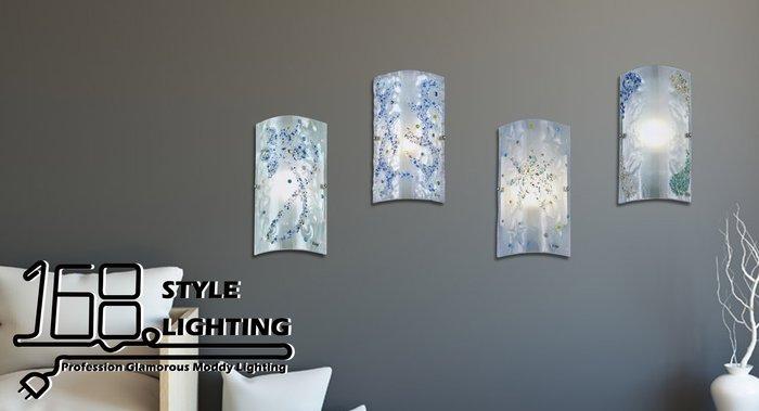 【168 Lighting】雪花飄動《時尚壁燈》(多款)GI 71395-5