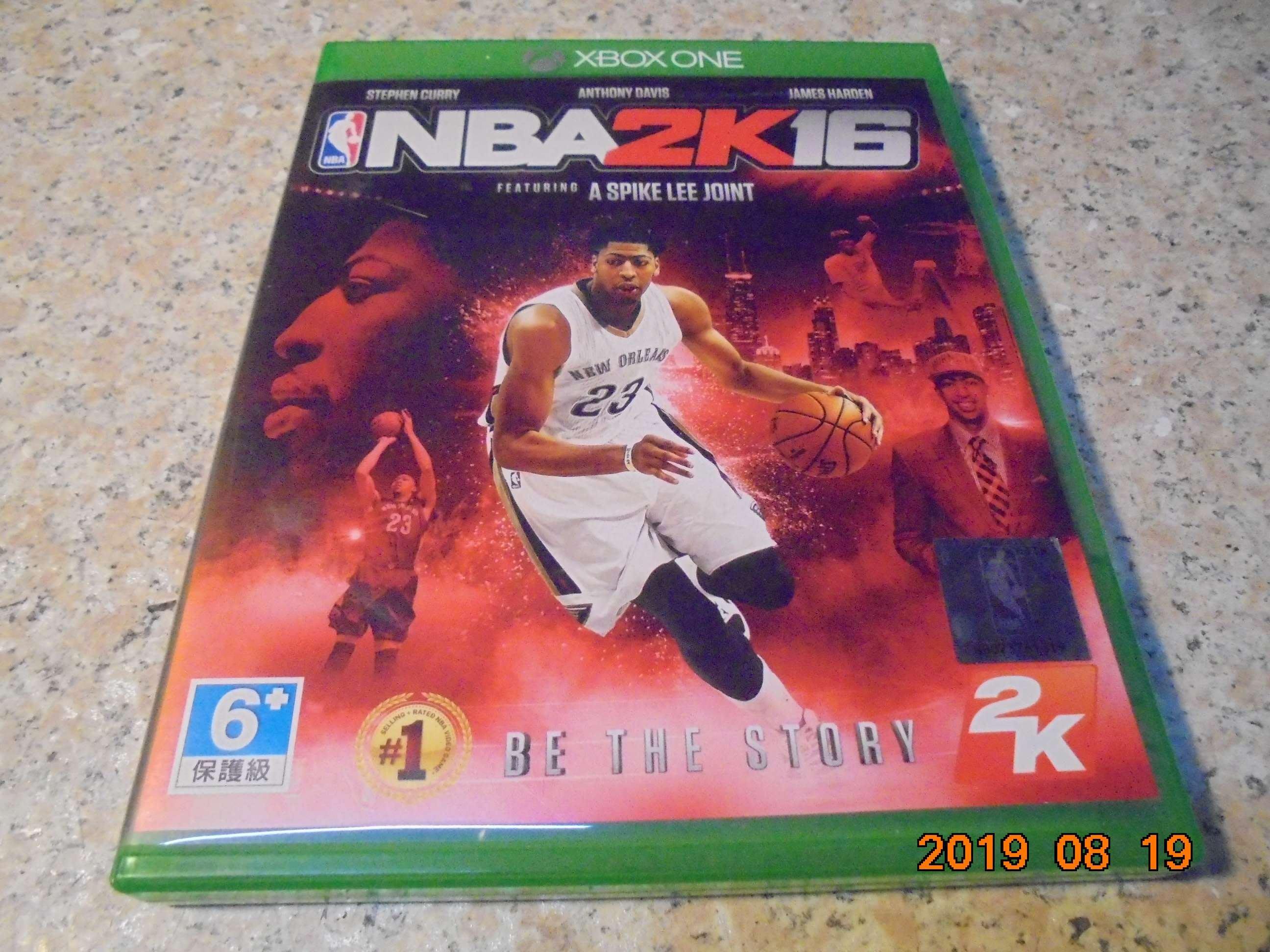 XBOX ONE NBA2K16 中文版 直購價300元 桃園《蝦米小鋪》