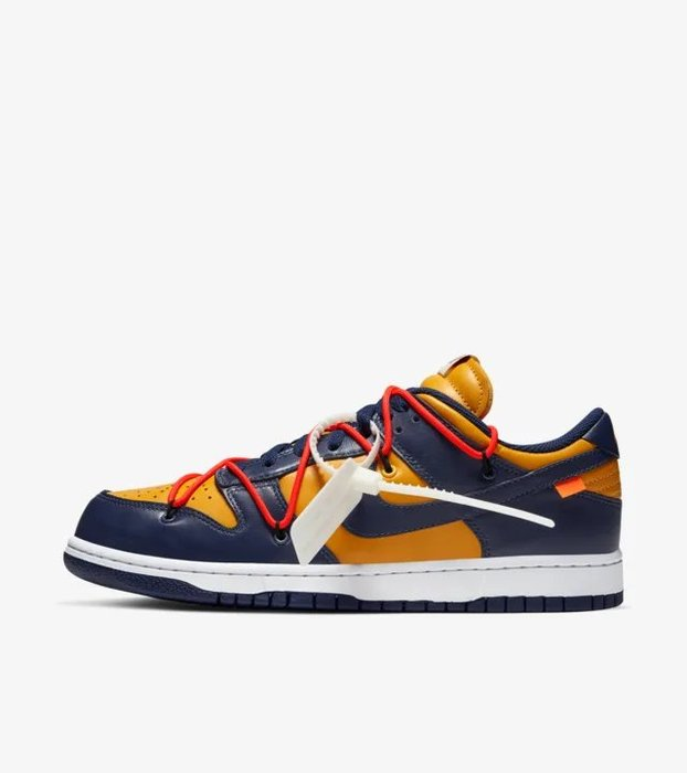 【IMPRESSION】NIKE Dunk Low x OFF-WHITE Michigan CT0856 700 現貨