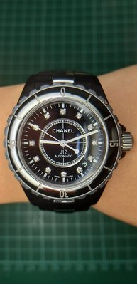 香奈兒J12鑽錶-J0455