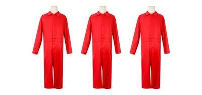 ~小娟家居~ 歐美系列 其它 服飾 2005 美國恐怖片 我們 Us 紅色 連體衣 萬聖節 男女 Cosplay