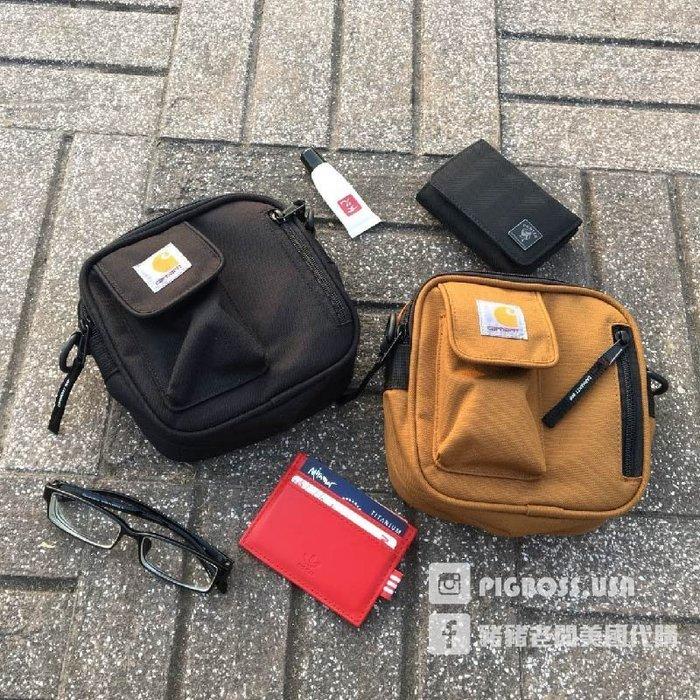 【豬豬老闆】Carhartt Essentials Flight Bag 黑 迷彩 卡其色 土色 側背包 腰包