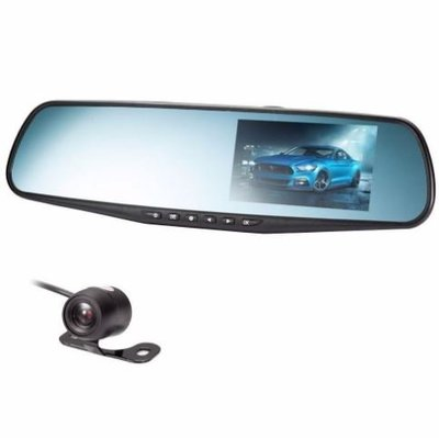 New 1080P HD Car Dash Camera Dual Cam Vehicle Front Rear DVR C135 11012020