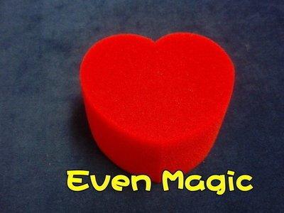 【意凡魔術小舖】愛心海綿球海棉球情人節生日禮物萬聖節耶誕節 夜店把妹魔術批發