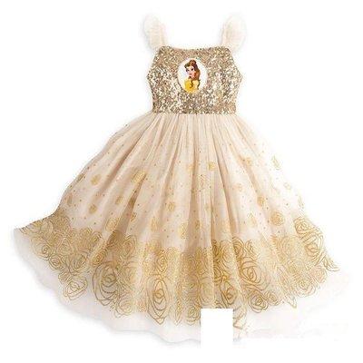 kitty house (793B3B) 童裝 女孩 disney Belle 公主 連衣裙 紗裙 最新 夏款 $190