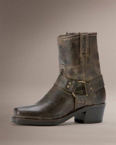 全新 FRYE Harness 8R 短機車靴 黑可可色 現貨 7.5  8000含國際郵資