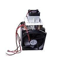 DC12V立式冷風機+電源供應器