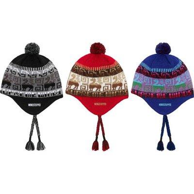 【紐約范特西】預購 Supreme FW20 Chullo WINDSTOPPER Earflap Beanie 毛帽