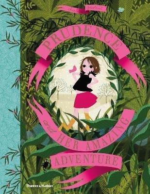 全新 現貨 Prudence and her Amazing Adventure 描圖紙繪本