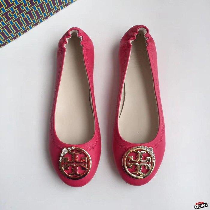 【全球購.COM】TORY BURCH TB 2019新款高跟鞋紅色 休閒鞋 娃娃鞋美國Outlet代購