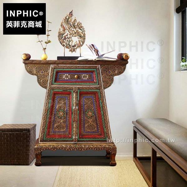 INPHIC-泰國隔斷桌玄關櫃客廳泰式門廳東南亞傢俱櫃子_FMG3