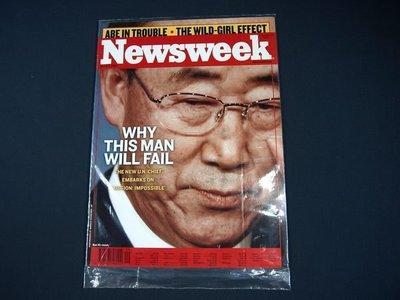 【懶得出門二手書】英文雜誌《Newsweek》WHY THIS MAN WILL FAIL 2007.3.5 (無光碟)│全新(21F32)