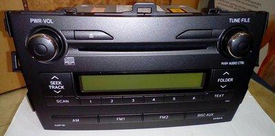 TOYOTA ALTIS 原廠音響 Panasonic CQ-JS70G94D 音響主機