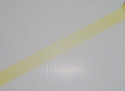 紙膠帶 Mark's Mini系列 小格子(黃) 分裝100cm