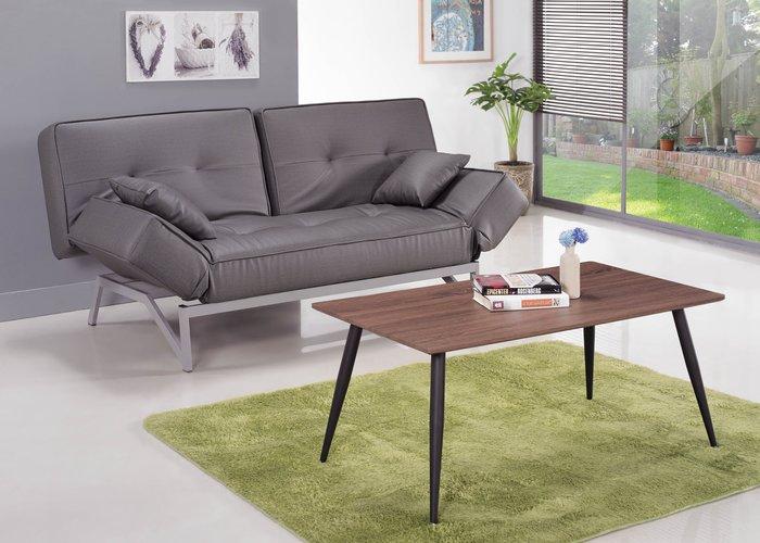 【南洋風休閒傢俱】沙發床系列-貓抓皮雙人休閒沙發床 雙人沙發 SB156-1