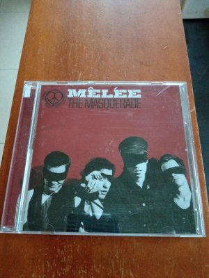 MELEE 魅力幫 The Masquerade 專輯CD  日本版