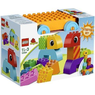 特價LEGO 包郵 得寶系列大顆粒 樂高嬰童積木拖車組 10554沖鉆