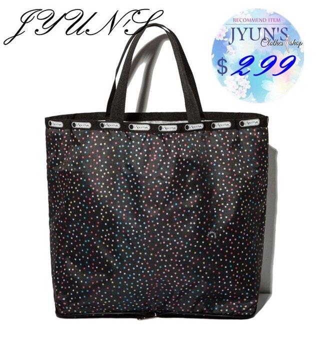 JYUN'S 新品日本LESPORTSAC附錄包主婦超市手提購物袋折疊便攜大款環保袋購物包手提包 多款 預購