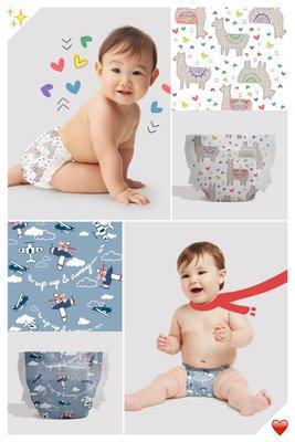 【美國預購】 The Honest Company環保 有機 無毒嬰兒尿布 ~2020限定款~