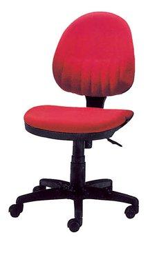 【南洋風休閒傢俱】辦公家具系列-紅布氣壓無手辦公椅 辦公書桌椅 (金633-8)