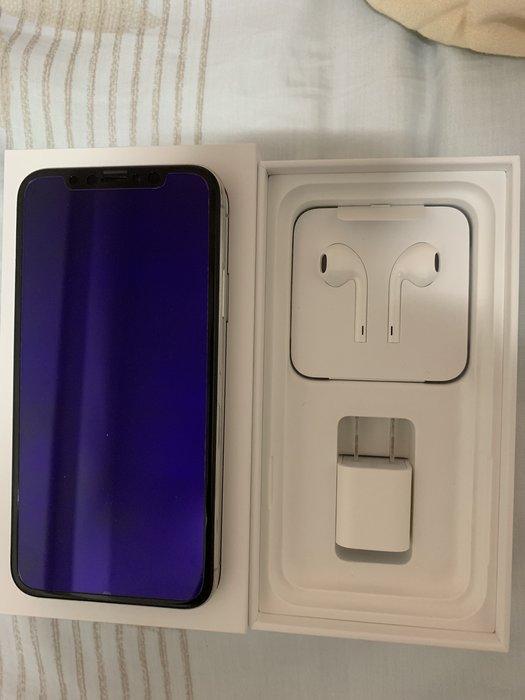 缺貨 超級新 全配 台中面交 二手美品 台灣公司貨 保固中 iPhone X 256g 銀 白 另售 iPhone 6