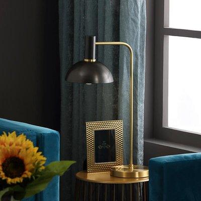 【德興生活館】北歐全銅客廳臺燈個性創意臥室床頭燈飾ins風格簡約現代書房燈具 限時促銷
