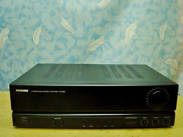 【小劉2手家電】PROART 擴大機,TA-660型,高低音明顯,壞機可修理/回收!