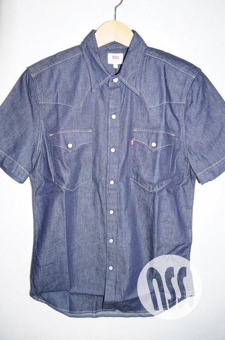 特價「NSS』LEVI'S LEVIS DENIM SHIRT 65817 0064 原色 短袖 牛仔襯衫 S