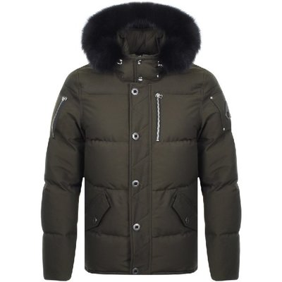 全新正品 加拿大 頂級羽絨 MOOSE KNUCKLES 3Q DOWN JACKET 軍綠色 羽絨外套