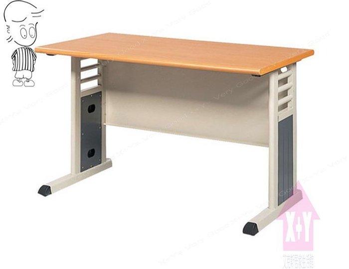 【X+Y時尚精品傢俱】OA辦公桌系列- 木紋檯面MSC 905/灰-100辦公桌空桌.職員桌.台南市OA辦公家具