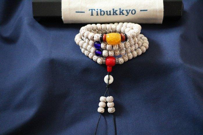 Tibukkyo 現貨 星月菩提 老挝籽 7x9mm A 桶珠 佛珠 平價 台灣星月菩提 乾磨正月 星月 菩提子 特價