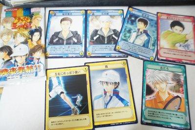 【R的雜貨鋪】【收藏品】網球王子TCG遊戲收藏卡 強豪集結 7枚(含包裝袋)