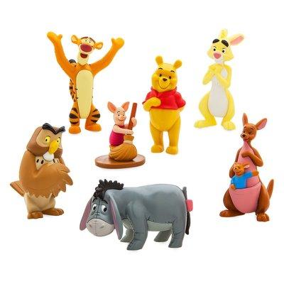 預購 美國迪士尼 Disney Winnie the Pooh 維尼小熊與好朋友公仔組合 禮盒 生日禮 粉絲必備