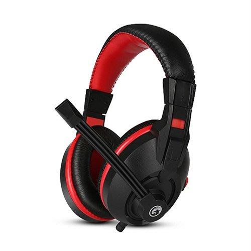 *硬派精璽* Marvo魔蠍H8321耳罩式耳機麥克風000308000020