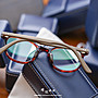 【睛悦眼鏡】簡約風格 低調雅緻 日本手工眼鏡 YELLOWS PLUS 45238