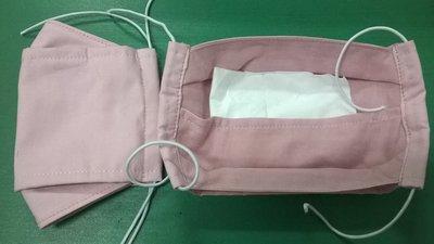 仿日韓系3D立體  方舟型立體口罩 布口罩可換濾材 台灣棉布/二重紗棉布口罩 可水洗重複使用又環保