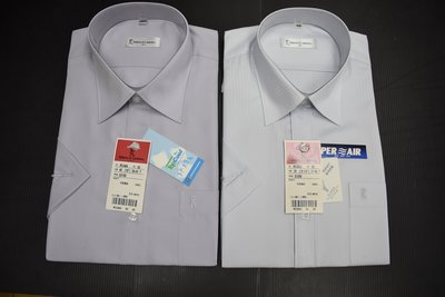 Roberta x 短袖襯衫│諾貝達白色直紋 襯衫 4款聚酯纖維100%