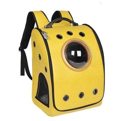狗包秋季新款寵物拉桿箱寵物外出包便攜包純色大容量寵物太空艙包