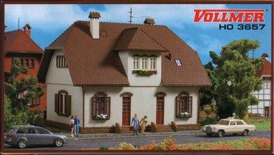 傑仲 (有發票) 公司貨 台灣博蘭 VOLLMER 場景組 HO 3657 Siedlungshaus