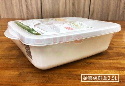 掀樂保鮮盒 2.5L 半上掀式 保鮮盒 掀蓋式保鮮盒 收納食材 米桶 零食 料理 冰箱冷藏 翻蓋盒 桃園市