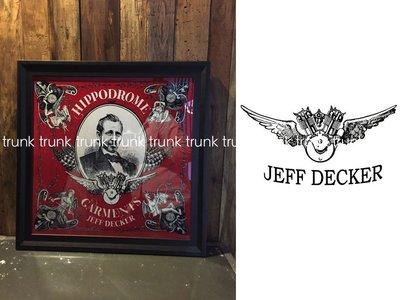 Hippodrome Garments Bandana (Red / Ivory)  JEFF DECKE FUSTY WORKS