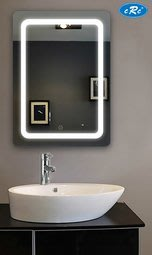 【CRC】【PM-6A】鏡子 LED 觸控鏡 浴室鏡 美容鏡 化妝鏡 無銅環保鏡 時尚新品 優惠推出!