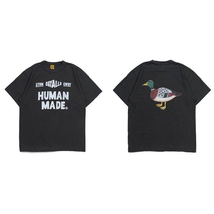 日本制bape潮牌HUMAN MADE主理NIGO 19SS款式DRY ALLS 鴨子男女短袖T恤tee