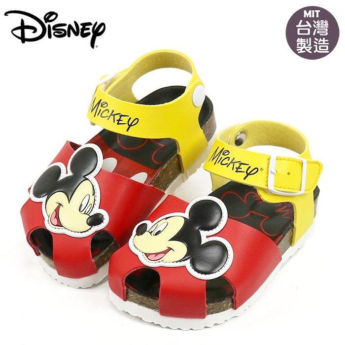 童鞋/正版Disney迪士尼米奇護趾氣墊涼鞋.童鞋.紅(14-18號117253)